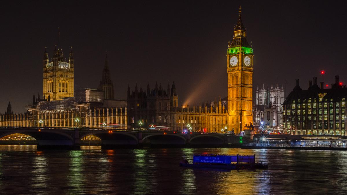 Palais de Westminster et Big Ben - décembre 2016