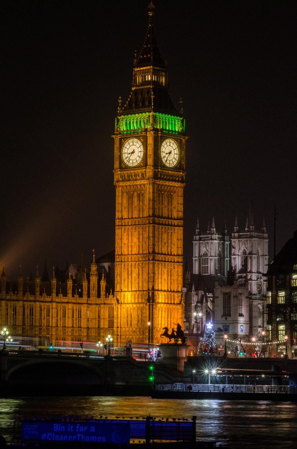 Big Ben - décembre 2016