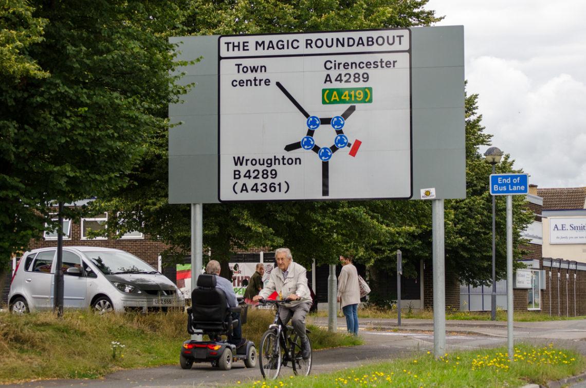 The Magic Roundabout Swindon