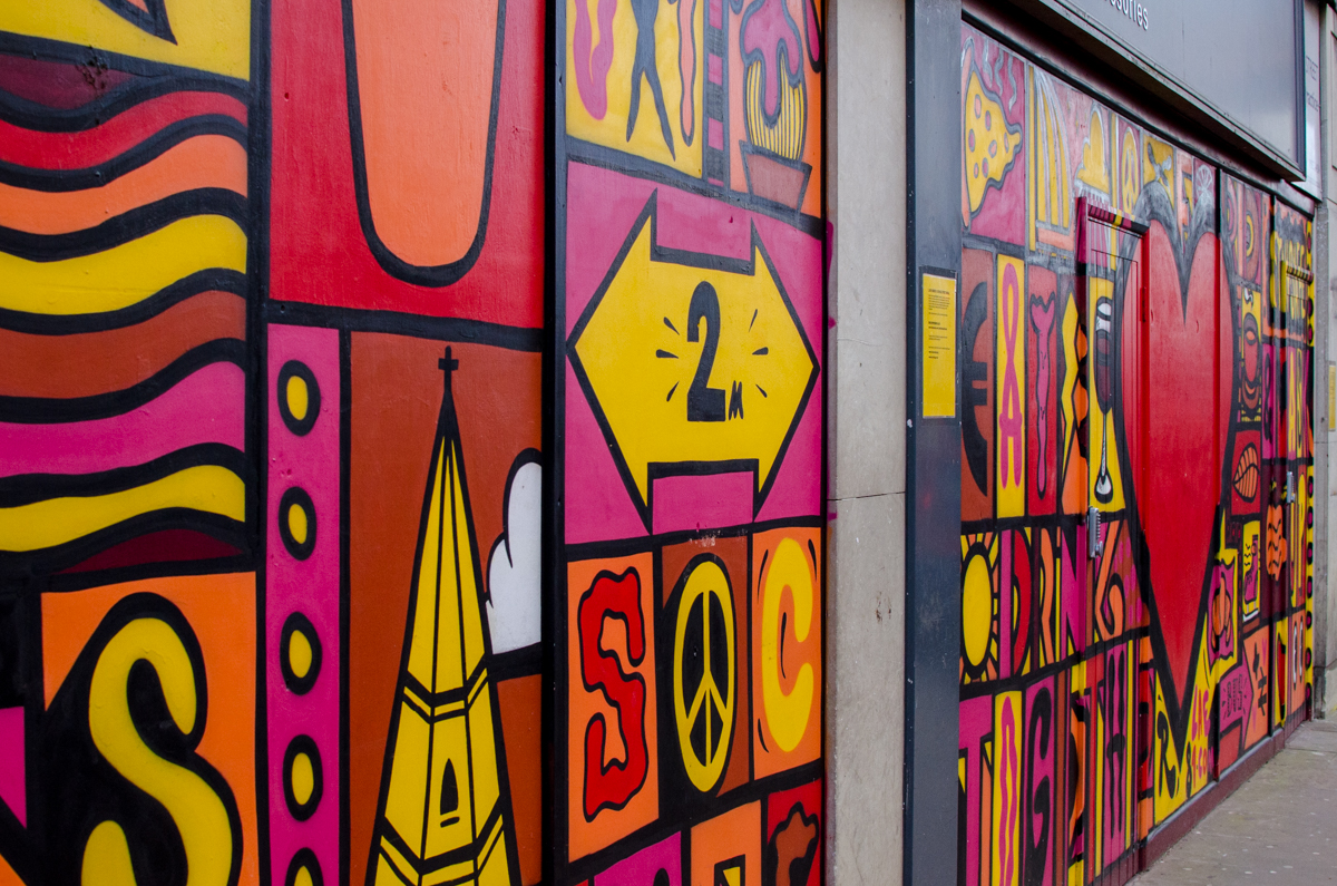 Fresque George Street