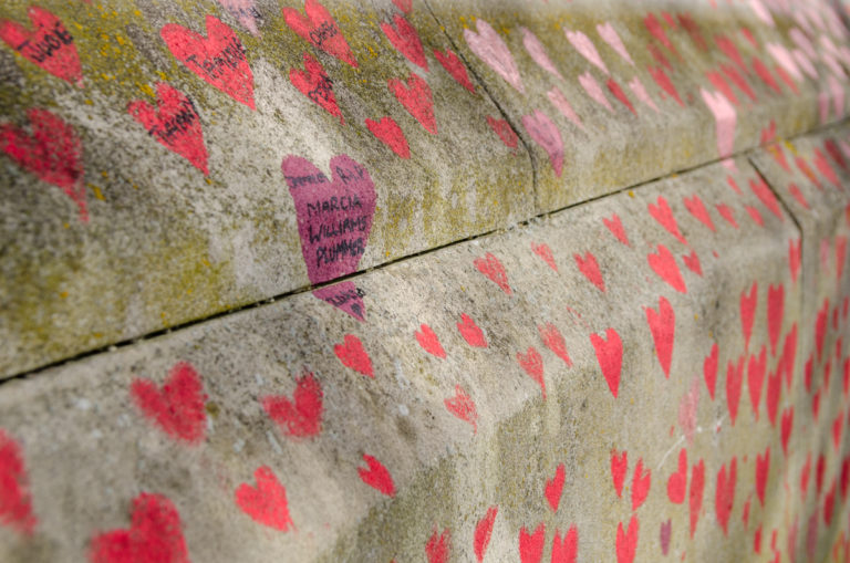 National Covid Memorial Wall
