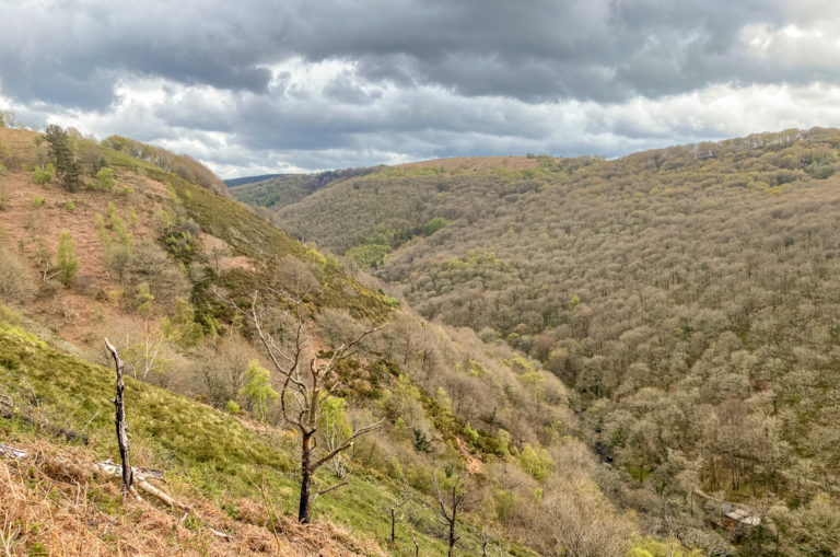 Randonnée Teign Gorge