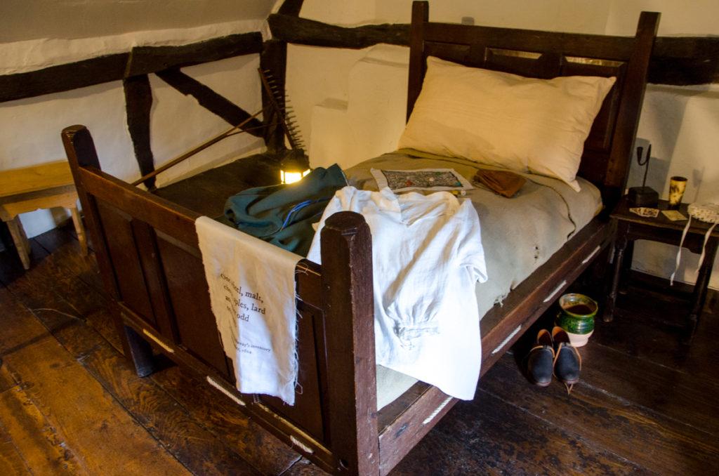 Chambre à coucher médiévale