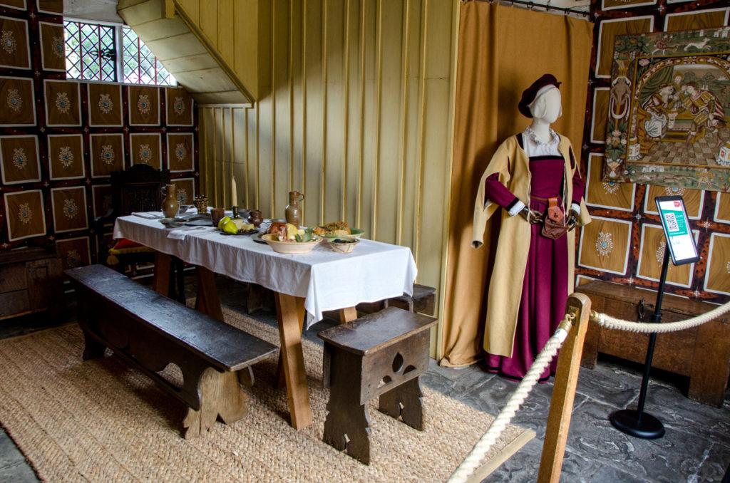 Salle à manger médiévale