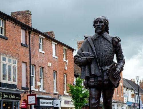Statue de Shakespeare