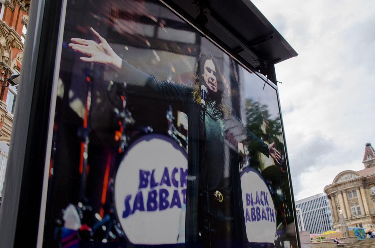 Panneau Black Sabbath